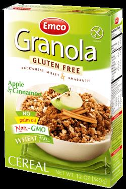 GF Granola apple & cinnamon 12oz