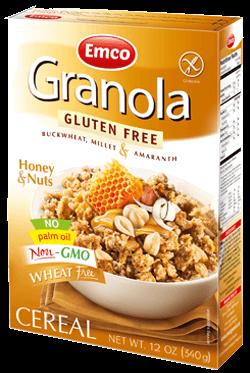 GF Granola honey & nuts 12oz