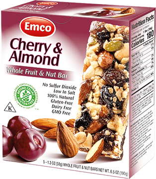 Bar F&N Cherry and almonds 5x38g