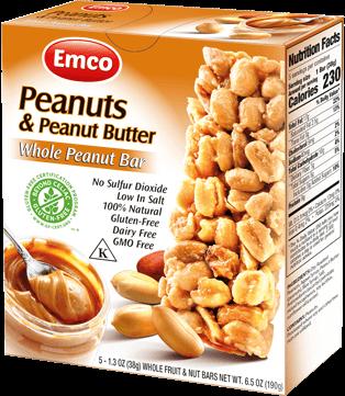 Bar F&N Peanut butter 5x38g