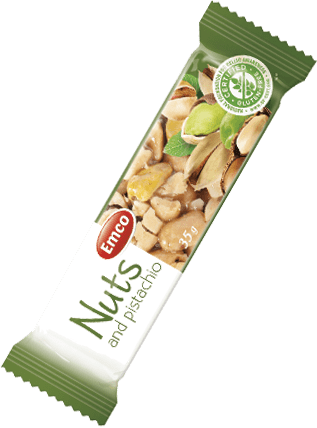 Bar Nuts and pistachio