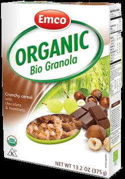 Organic Granola with chocolate & hazelnut 13.2 oz