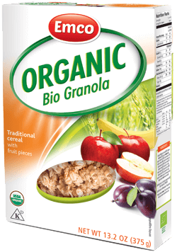 Organic müsli traditional with fruit pieces 13.2 oz