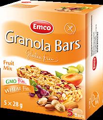 Granola bars – Fruit mix 5×24,8g