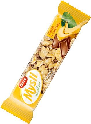Čokoláda a banán