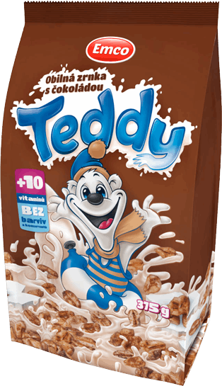 Teddy s čokoládou