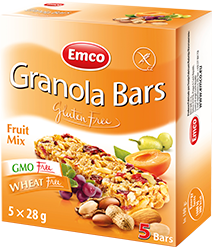 Granola bars – Fruit mix