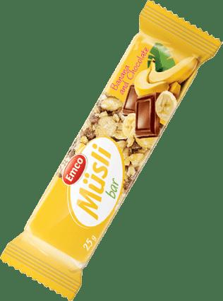 Müsli bar – Banana and Chocolate