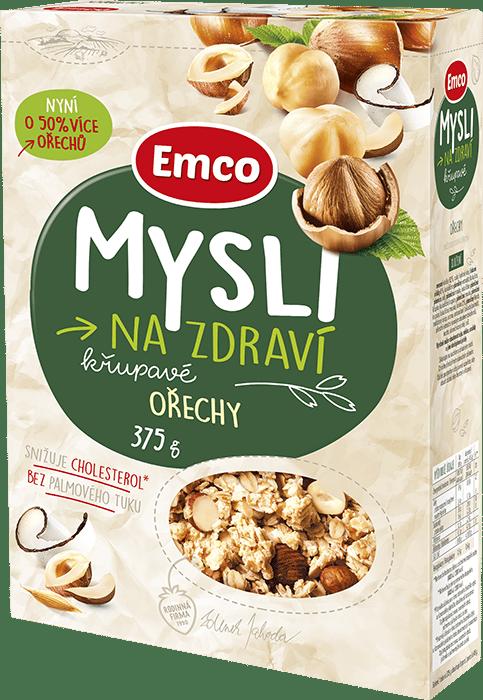 Crunchy müsli with hazelnuts
