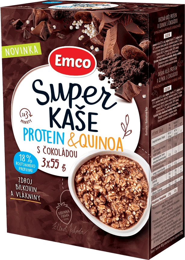 Protein & quinoa s čokoládou