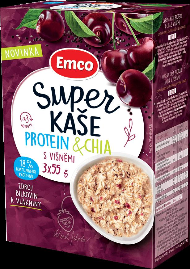 Protein & chia s višněmi
