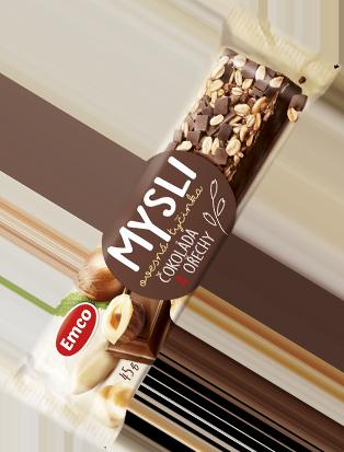 Čokoláda a ořechy