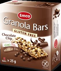 Granola bars – Chocolate Chips