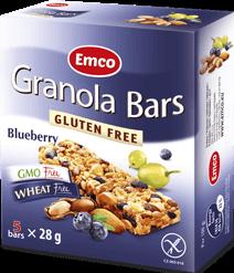 Granola bars – Blueberry