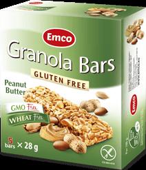 Granola bars – Peanut Butter