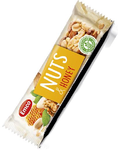 Bar Nuts and honey