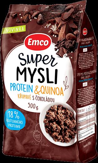 Protein & quinoa křupavé s čokoládou