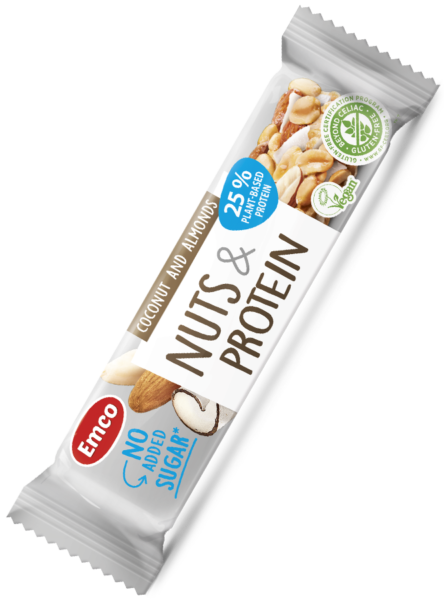 Nuts and protein bar no added sugar