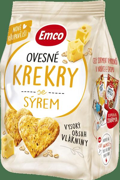 Levně Ovesné krekry se sýrem