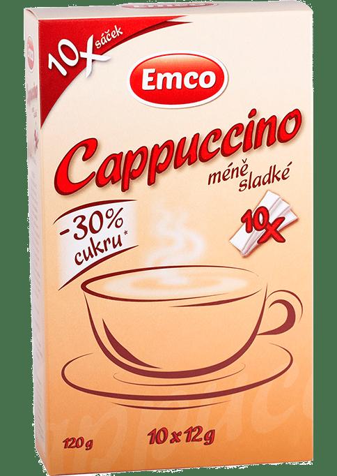 Levně Cappuccino méně sladké