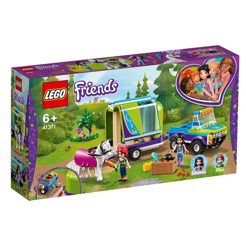 Mia a přívěs pro koně, LEGO