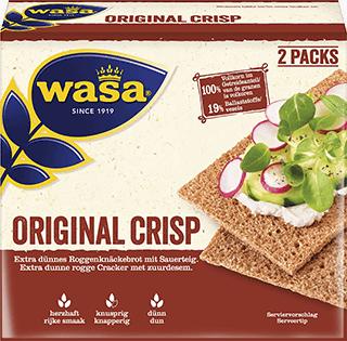 Levně Wasa original crisp